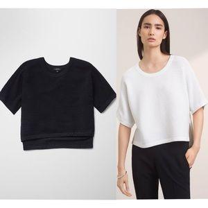 ARITZIA | Babaton Cropped Ribbed Donald shirt